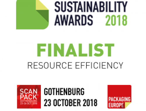 NanoPack – Finalist of the Packaging Europe Sustainability Awards 2018